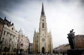 Cathedral at Novi Sad